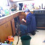 تنظيف مجارى المطبخ